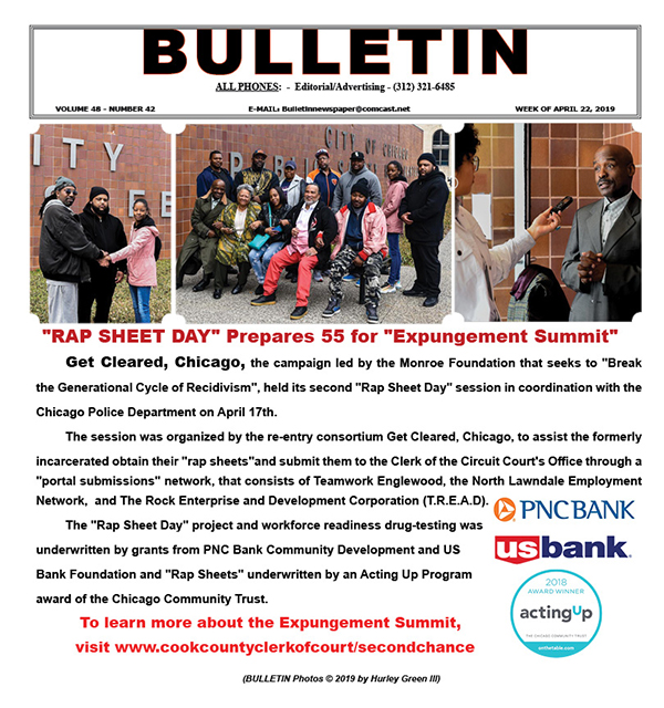 Bulletin 48 42 Rap Sheet Day Prepares 55 For Expungement Summit