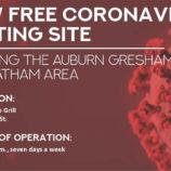 New Free Coronavirus Testing Site
