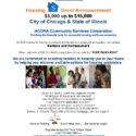 Housing Grant Announcement